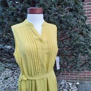 Nanette Lepore Fit Flare Shirt Dress Spring Easter